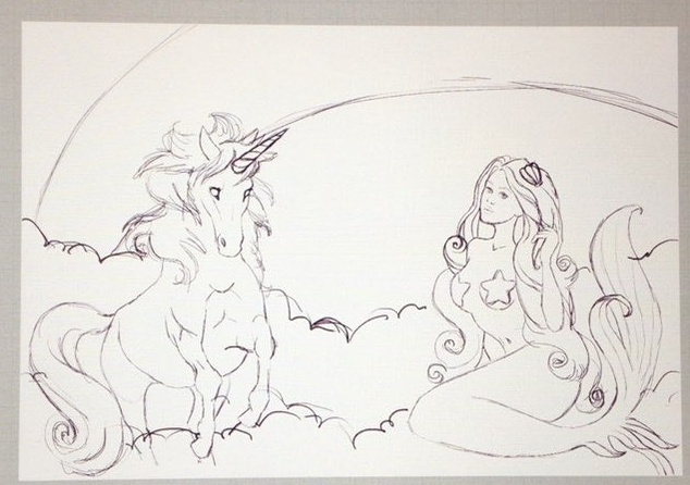 Tooth and Nail Unicorn vs. Mermaids sketch