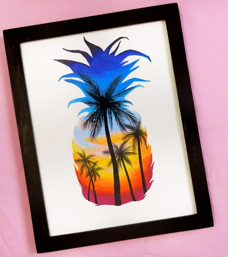Pineapple print by Jorge Serrano