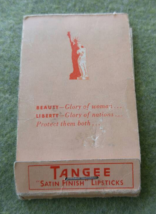 Tangee lipstick tissues