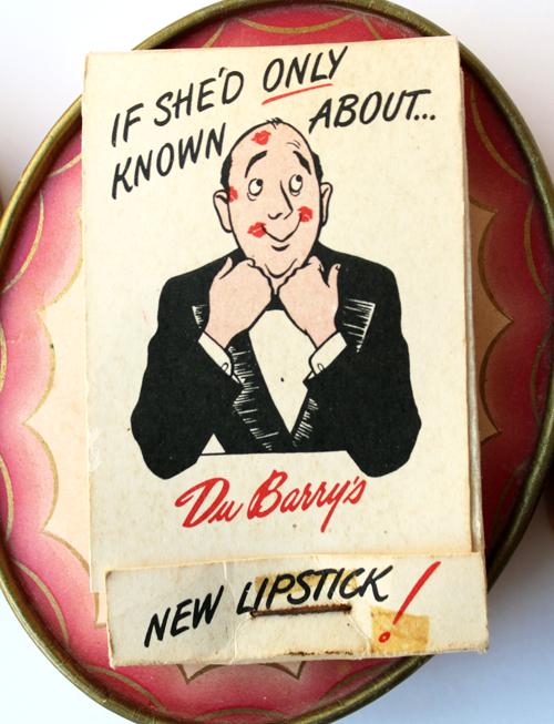 Dubarry lipstick tissues