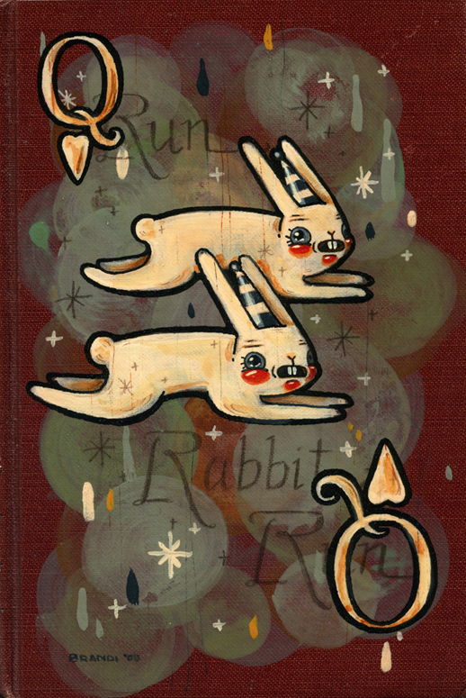 Brandi Milne, Run Rabbit, Run, 2009