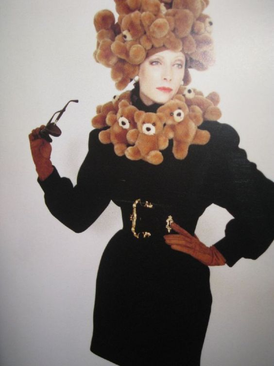 Moschino teddy bear dress, 1988