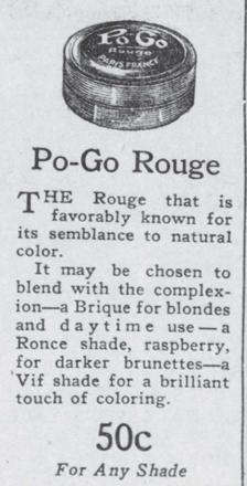 Po-Go Rouge, 1927