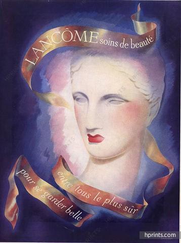 Lancôme ad, 1945
