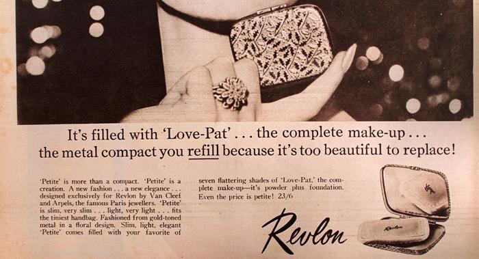 Revlon Petite compact ad
