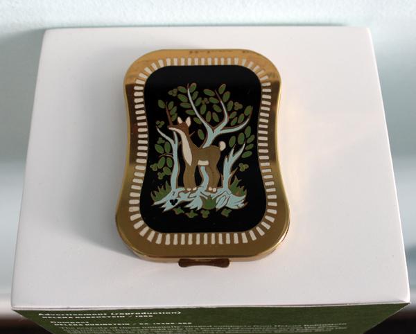 vintage Helena Rubinstein deer compact