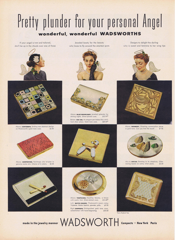 1952 Wadsworth compact ad