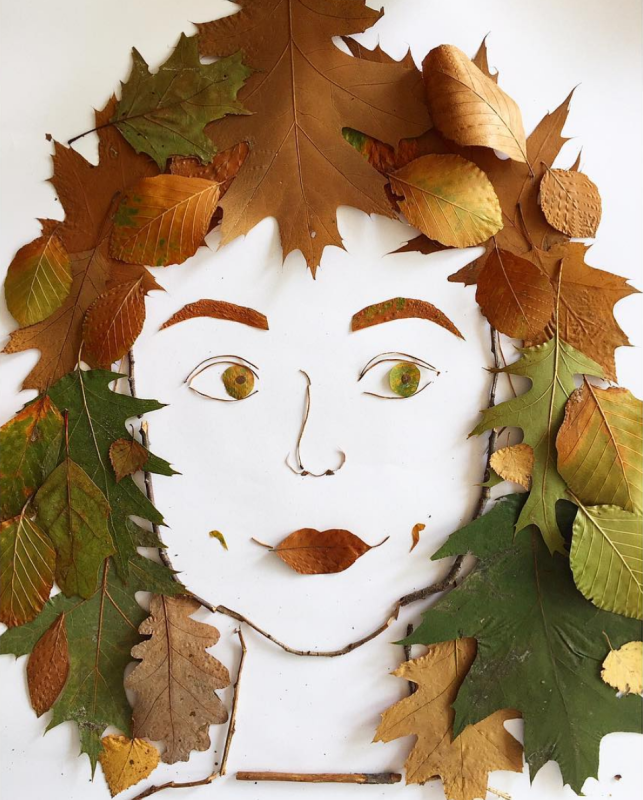Nele Maas - Face the Foliage project