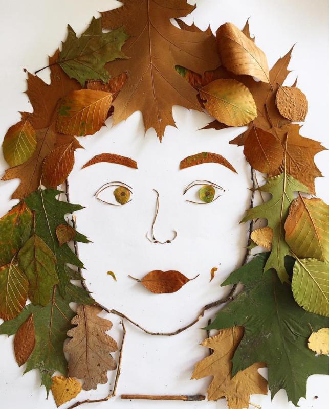 Nele Maas - Face the Foliage project