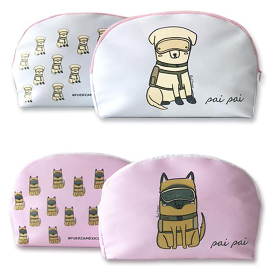 Pinut Brein for Pai Pai - rescue dogs cosmetic bags