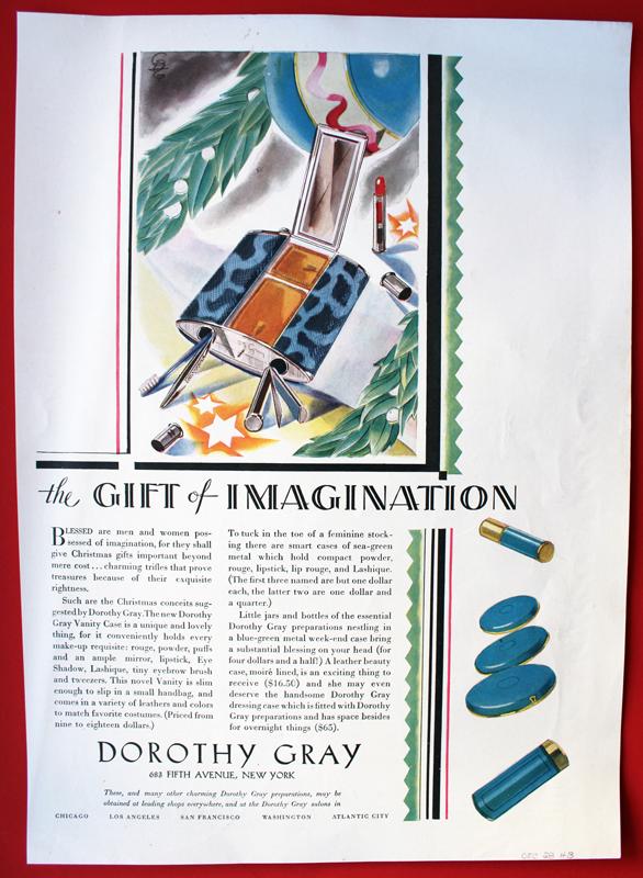 Dorothy Gray ad, 1928
