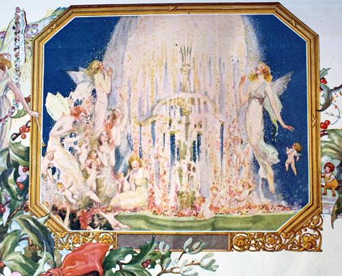 Djer Kiss Christmas ad, 1919