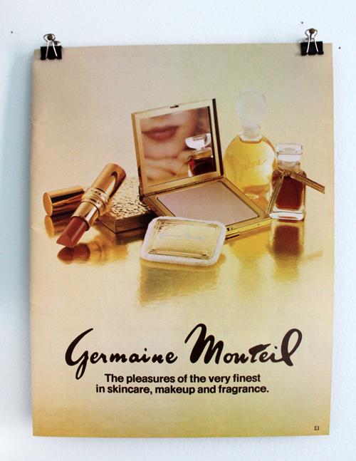 Germaine Monteil ad, 1980