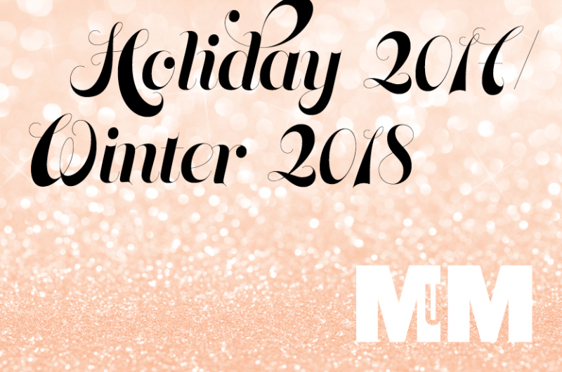 MM holiday 2017/winter 2018 exhibitionposter