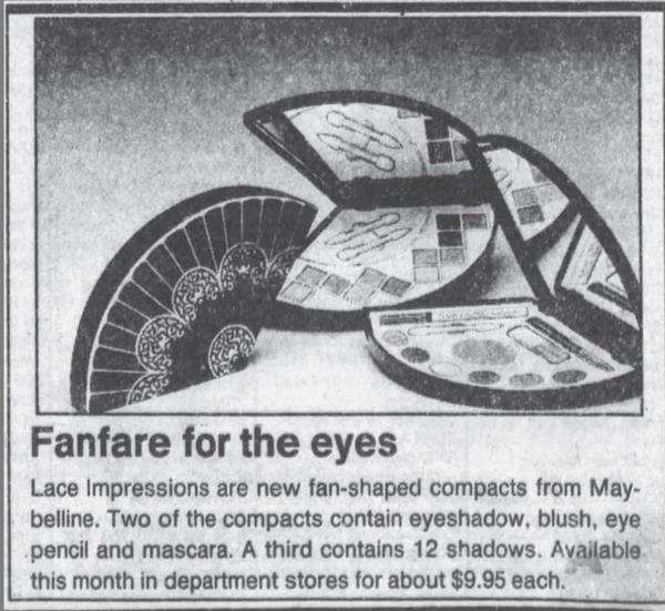 Maybelline ad, November 1989