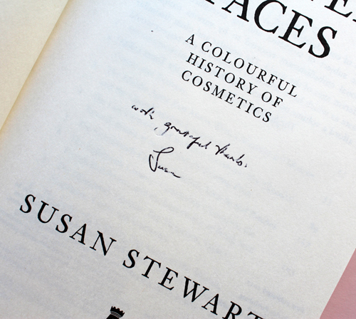 Painted Faces: A Colorful History of Cosmetics by Susan Stewart