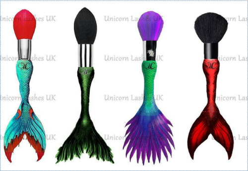 Unicorn Cosmetics mermaid brush set prototype