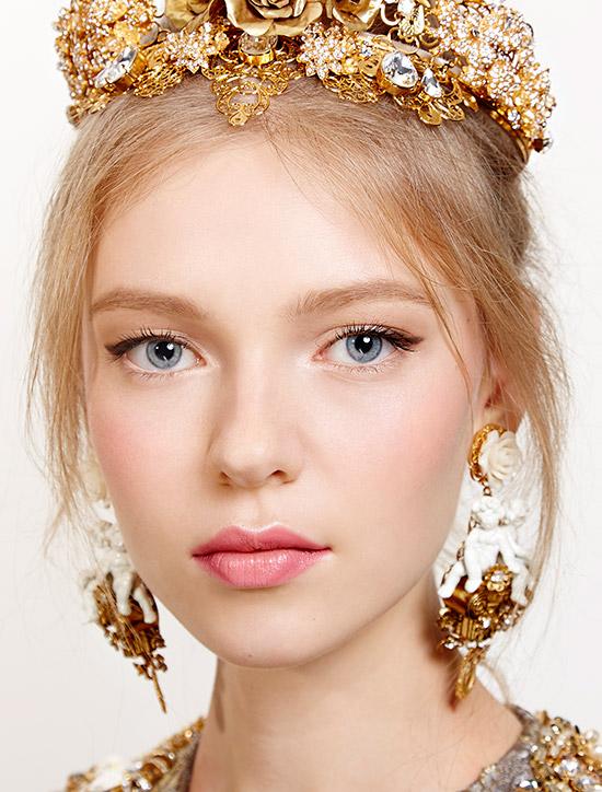 Dolce & Gabbana spring 2016 makeup