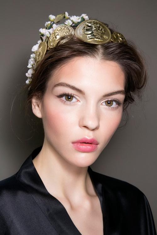 Dolce & Gabbana spring 2014 makeup