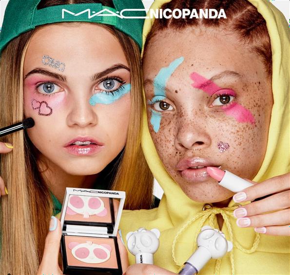 MAC Nicopanda ad
