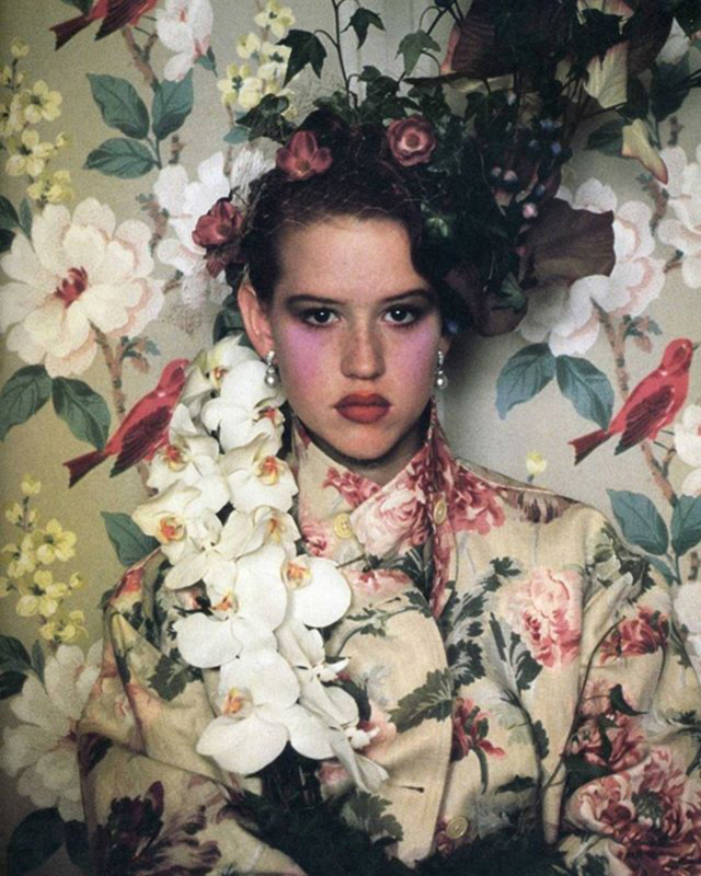 Molly Ringwald by Sheila Metzner, 1984