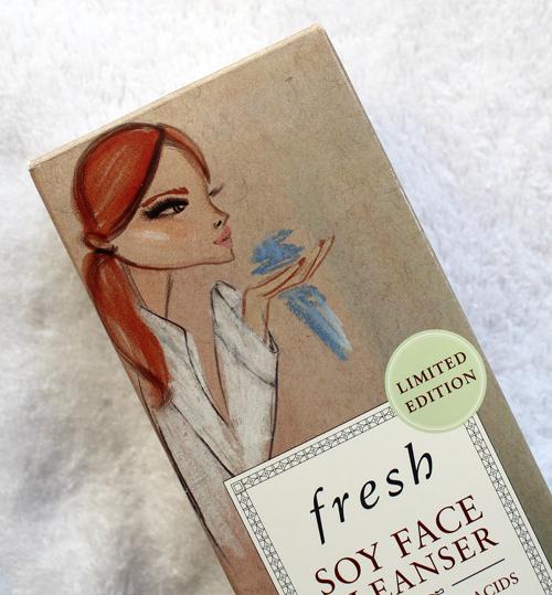 Fresh Soy Cleanser illustrated by Blair Breitenstein