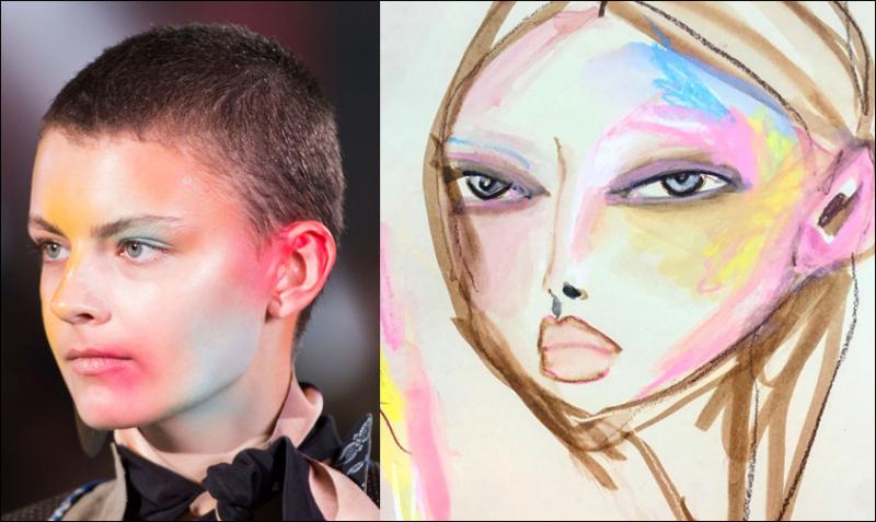Blair Breitenstein, Vivienne Westwood makeup