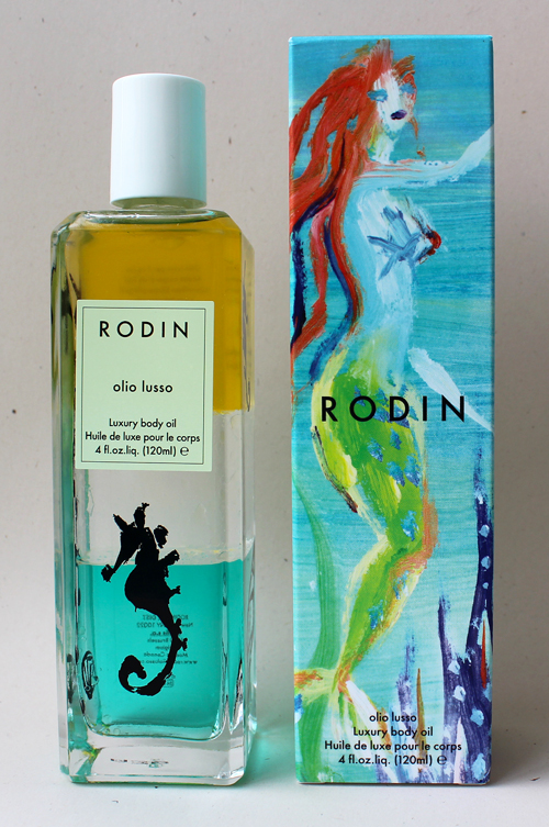 Rodin mermaid body oil