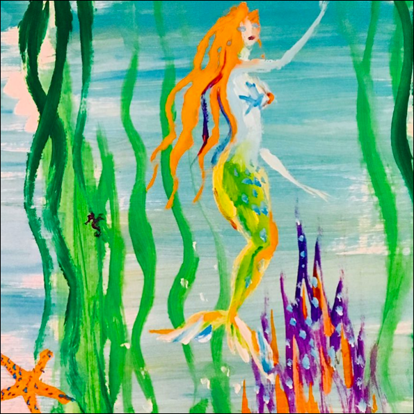 Donald Robertson - mermaid