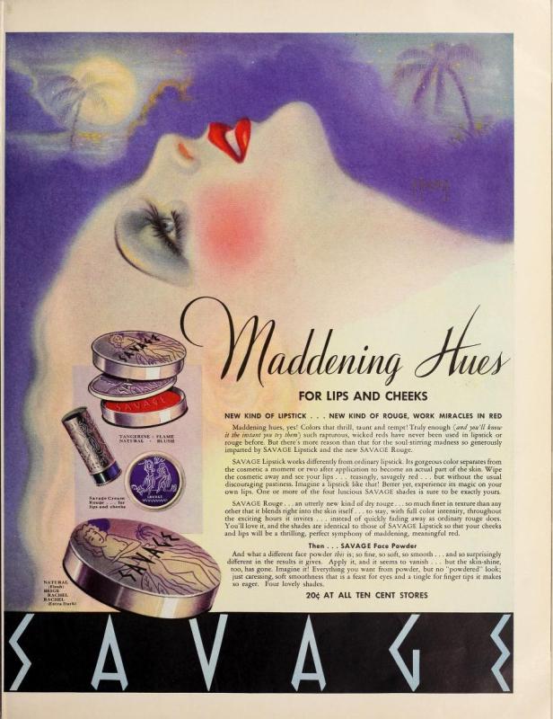 Savage ad, 1935