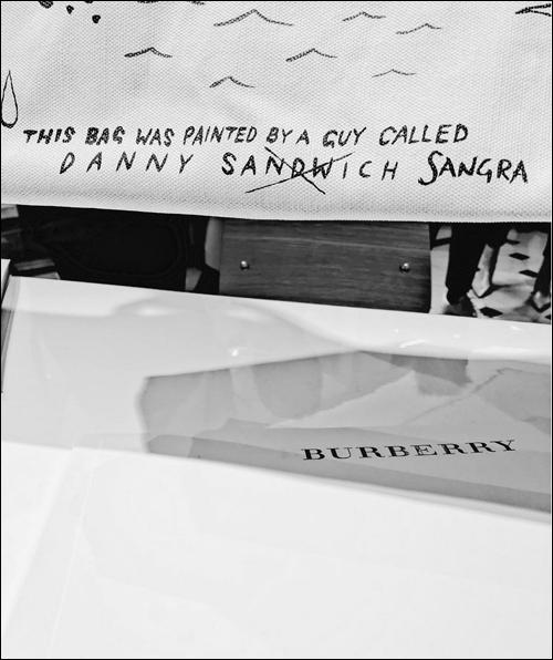 Danny Sangra for Burberry