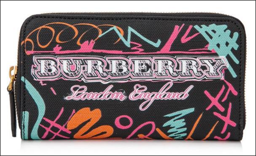 Burberry Doodle wallet