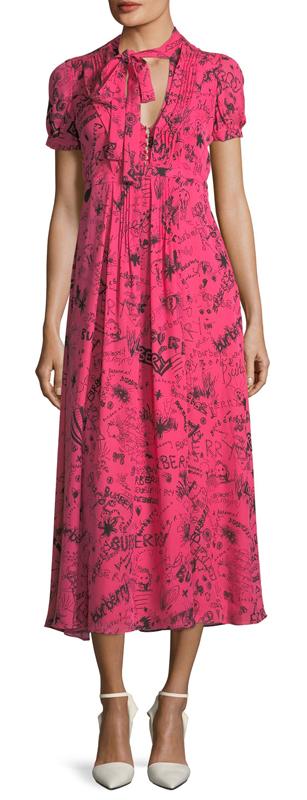 Burberry Doodle dress