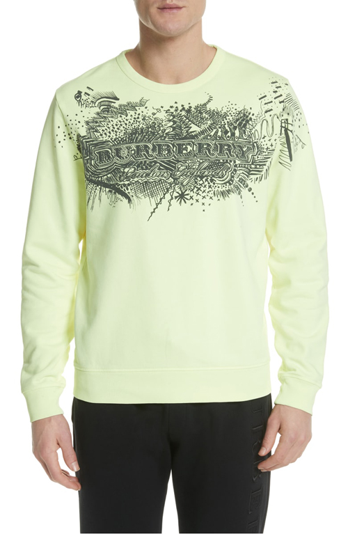 Burberry Doodle sweatshirt