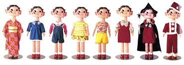 Peko figurines