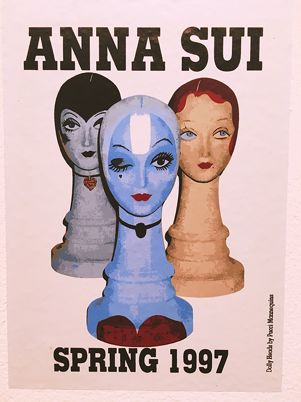Anna Sui dolly heads by Ralph Pucci