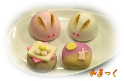 Moon rabbit sweets
