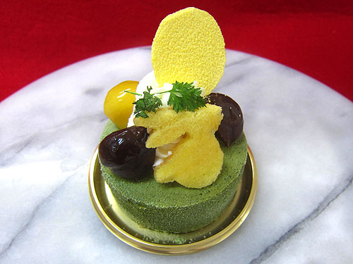 Moon rabbit dessert