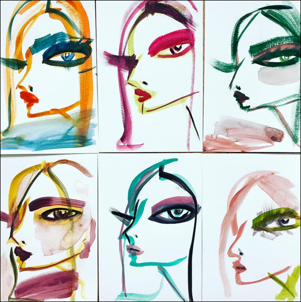 Blair Breitenstein, Complimentary Colors
