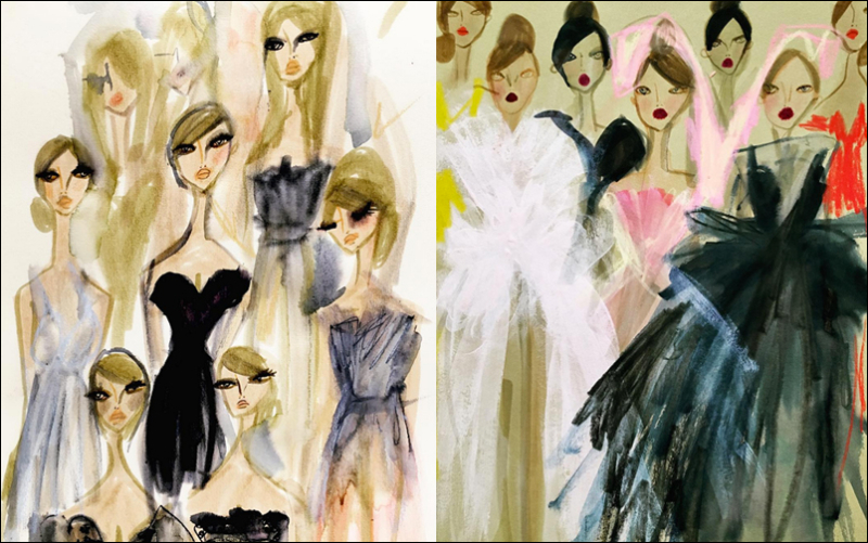 Blair Breitenstein, Dior and Giambattista Valli