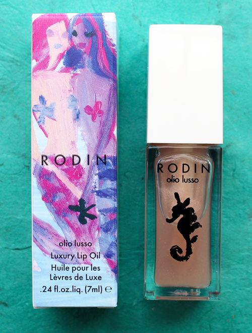 Rodin mermaid lip oil