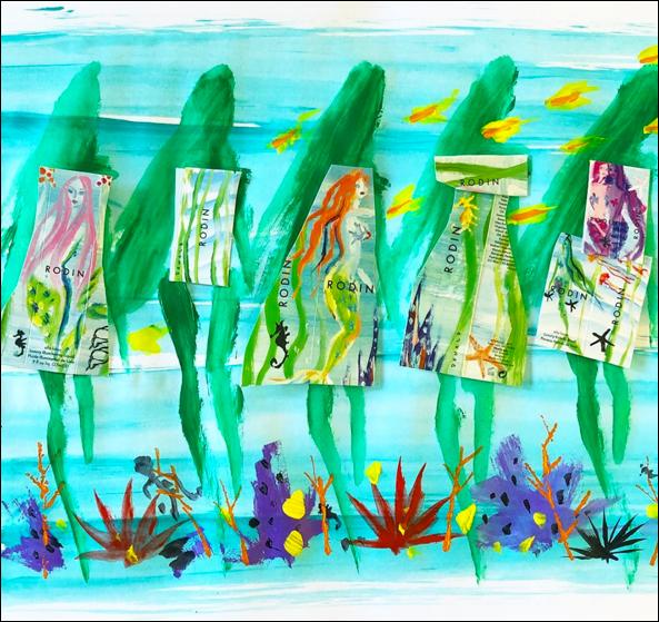 Donald Robertson - Rodin mermaid collection
