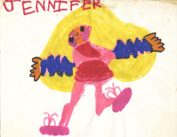 Jen Stark age 5