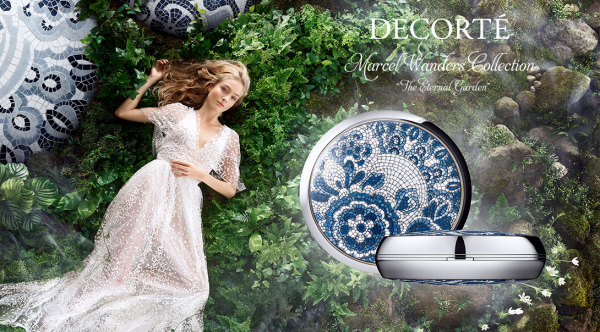 Cosme Decorte x Marcel Wanders 2018 promo