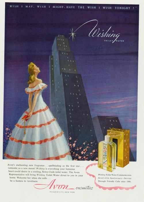 Avon Wishing ad, 1947
