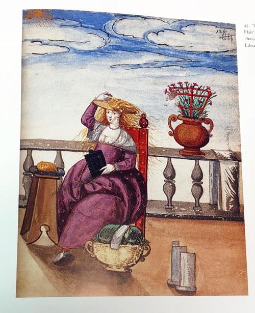 Venetian Woman Bleaching Her Hair, c. 1598-1610