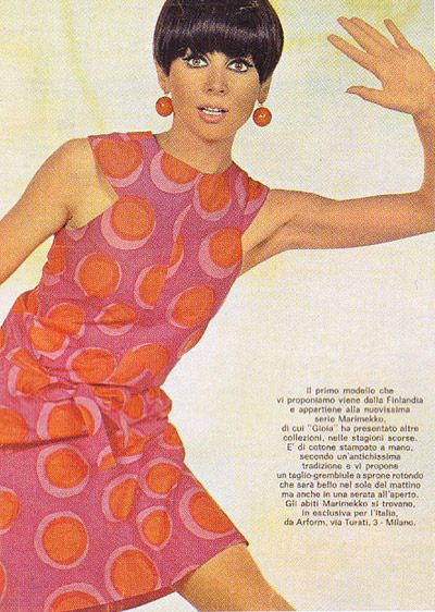 Marimekko - Petrooli print dress, 1963