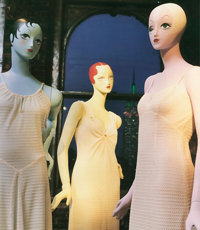 Anna Sui mannequins by Ralph Pucci