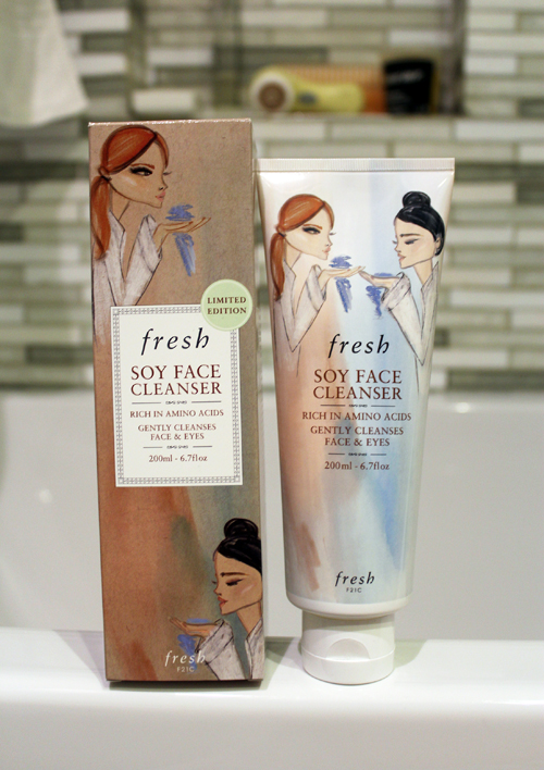 Fresh Soy Cleanser illustrated by Blair Breitenstein