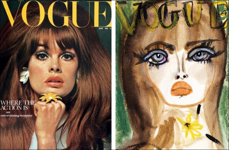 Blair Breitenstein, Vogue 1965